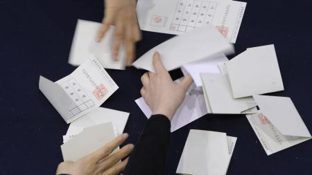 South Korean Vote In Presidential Election
