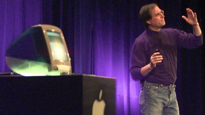 The last time Apple manufactured its computers in the US they looked a bit like this.