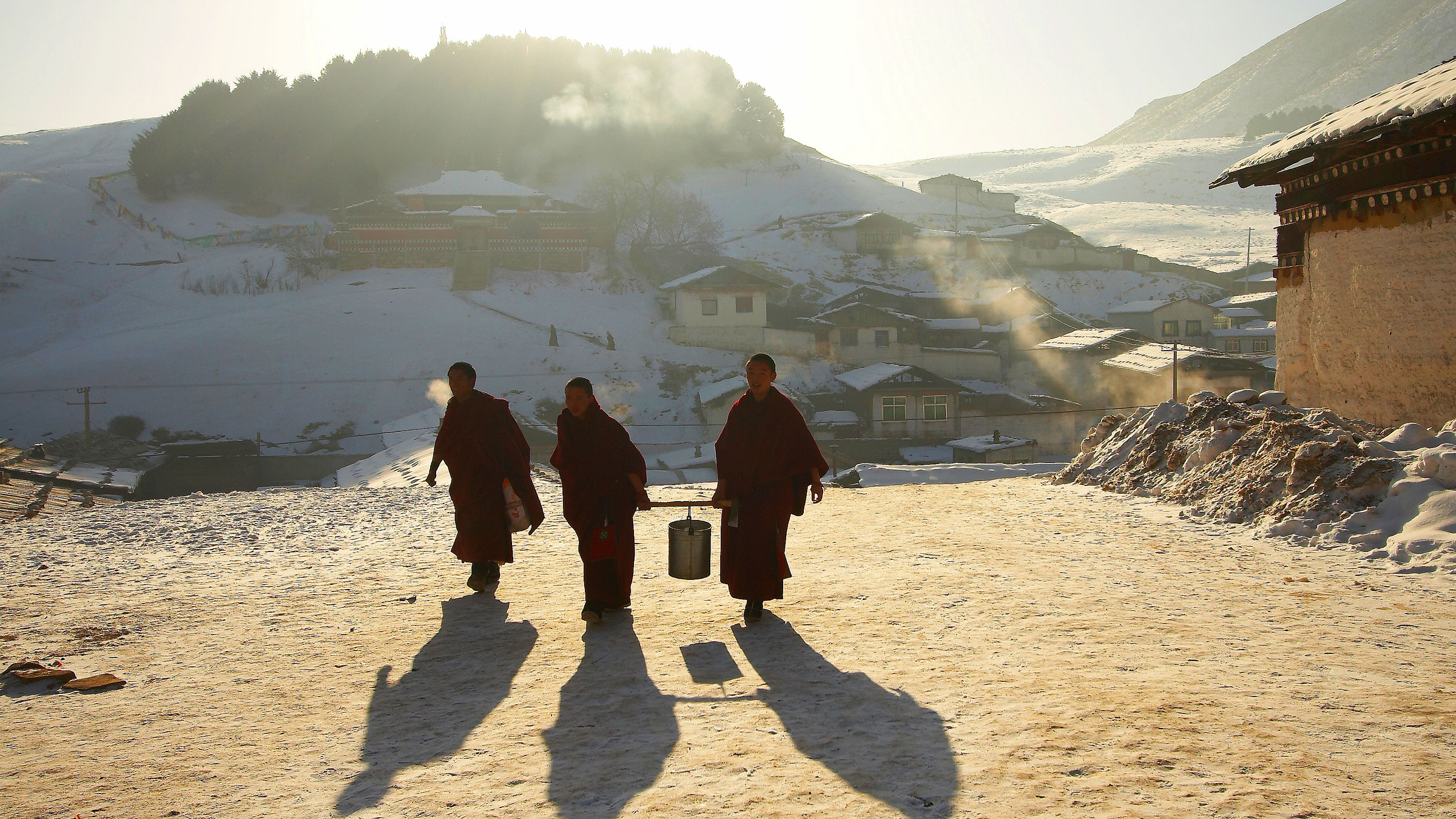 A theme park is planned for Tibet, in one of China's more ridiculous stimulus measures