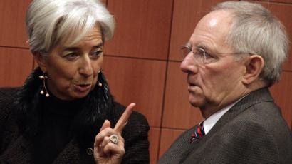 Schäuble lagarde greece bailout