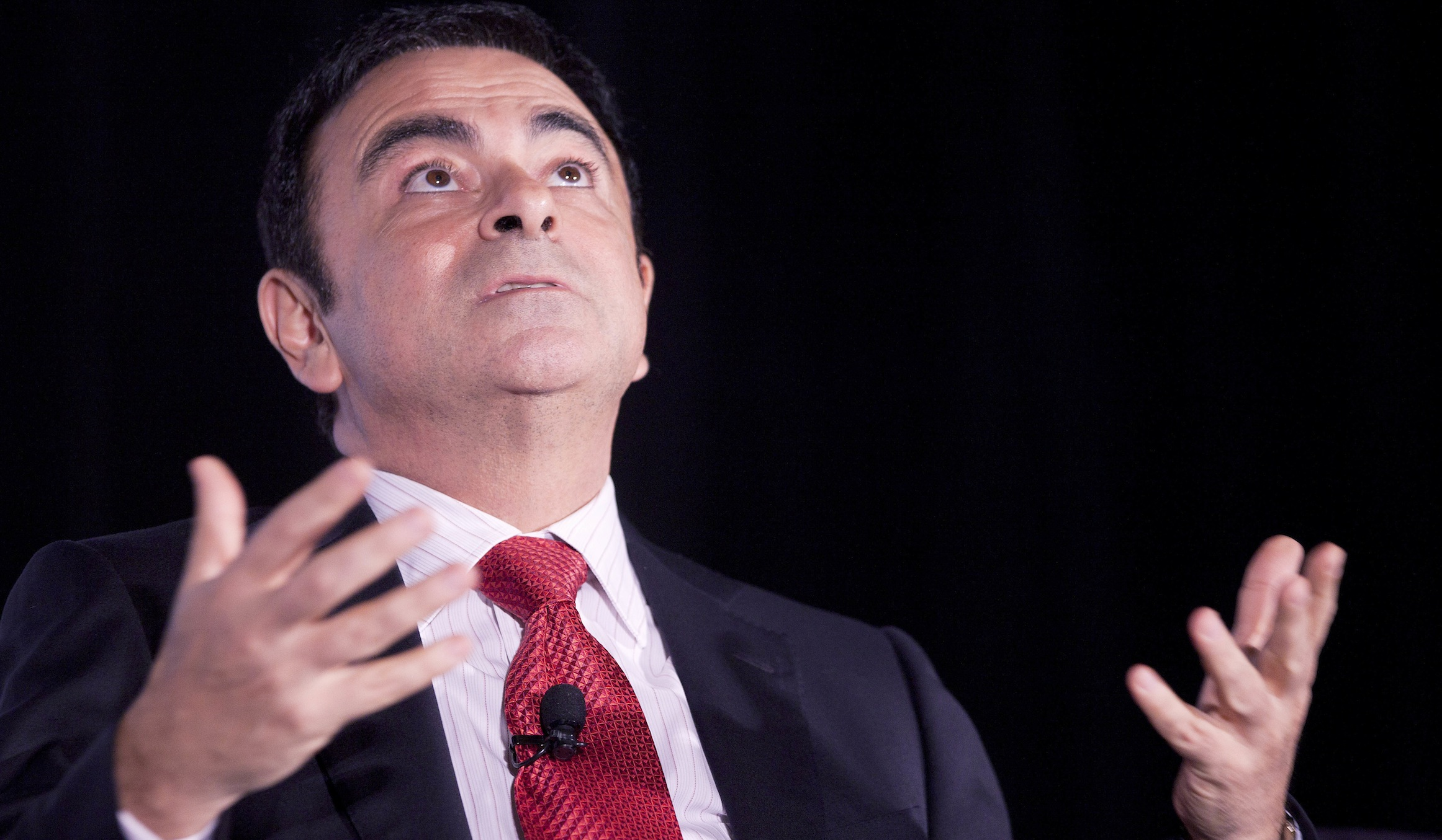 Carlos Ghosn, Chairman and CEO Nissan and Renault,