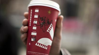fiscal cliff starbucks come together cup