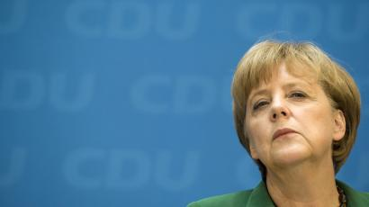 Germany's Angela Merkel