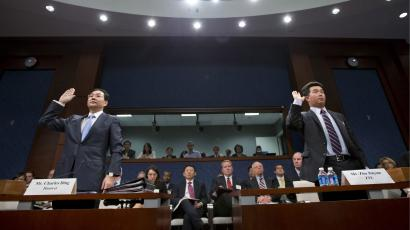 Executives from China's Huawei and ZTE in Sept. testified before the US Congress regarding espionage fears.