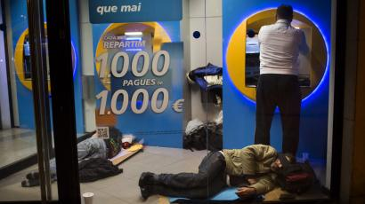 spain euro crisis unemployment currency war