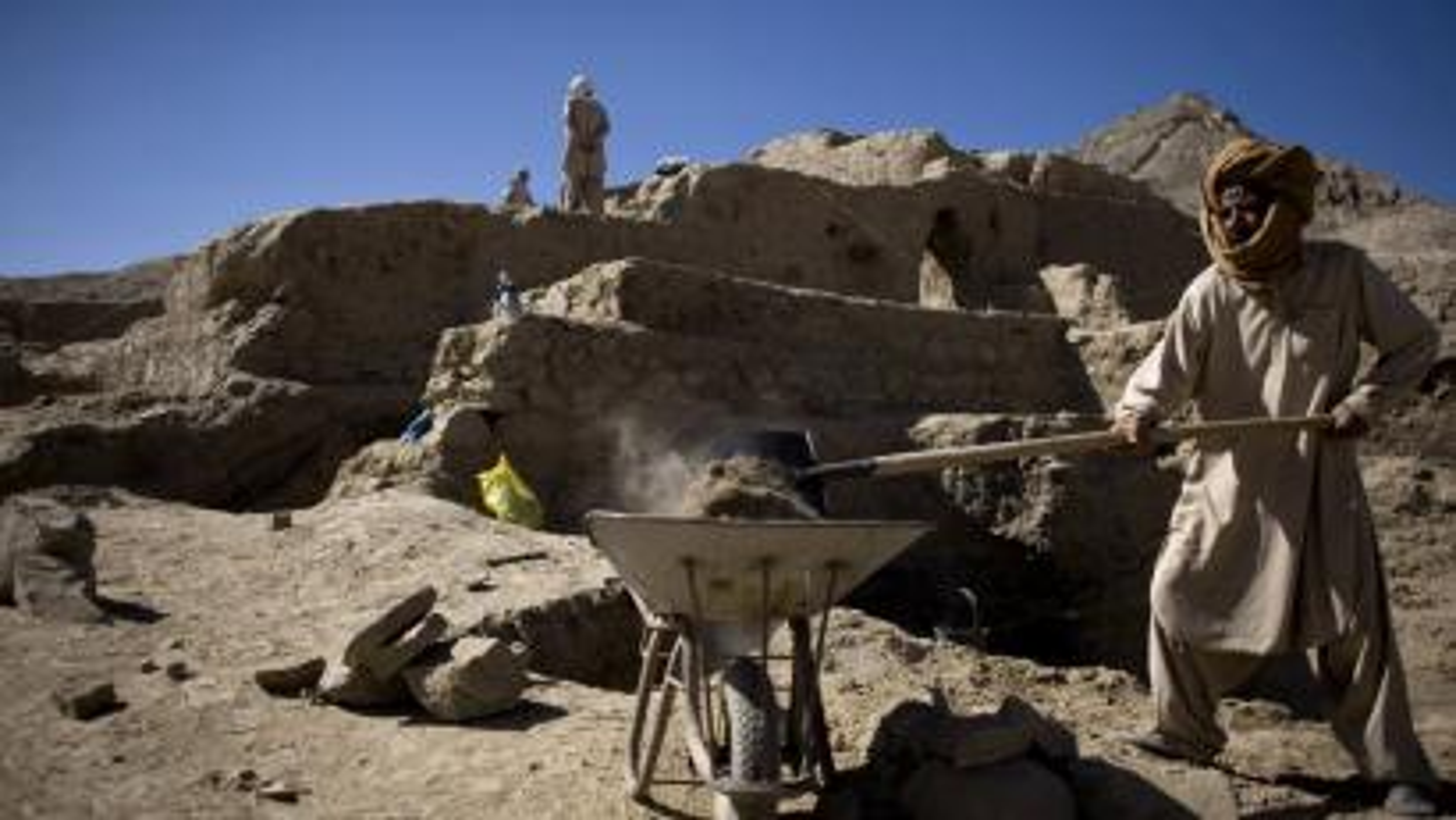 Aynak copper mine, Afghanistan