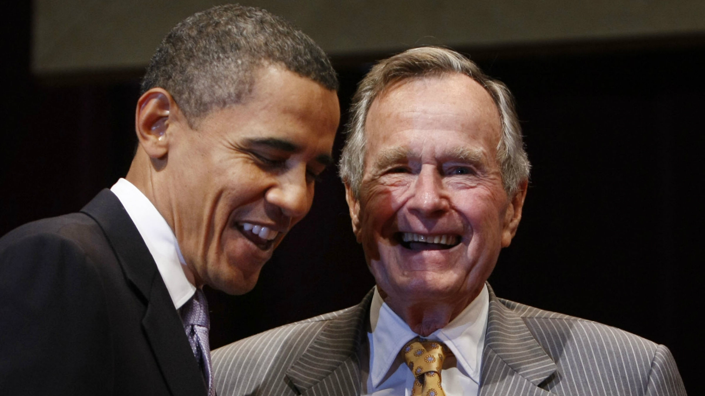 """The first President Bush only served one term but his """"no new taxes"""" pledge cast a long shadow."""