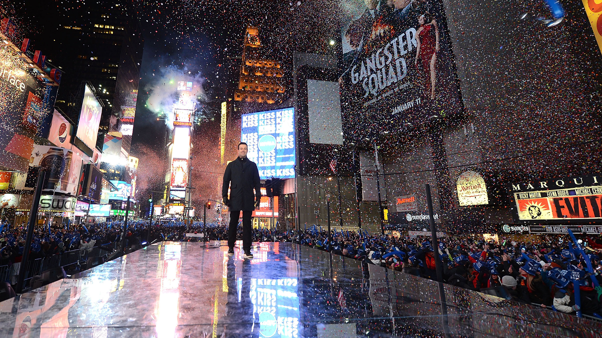 carson daly, new year's eve, times square