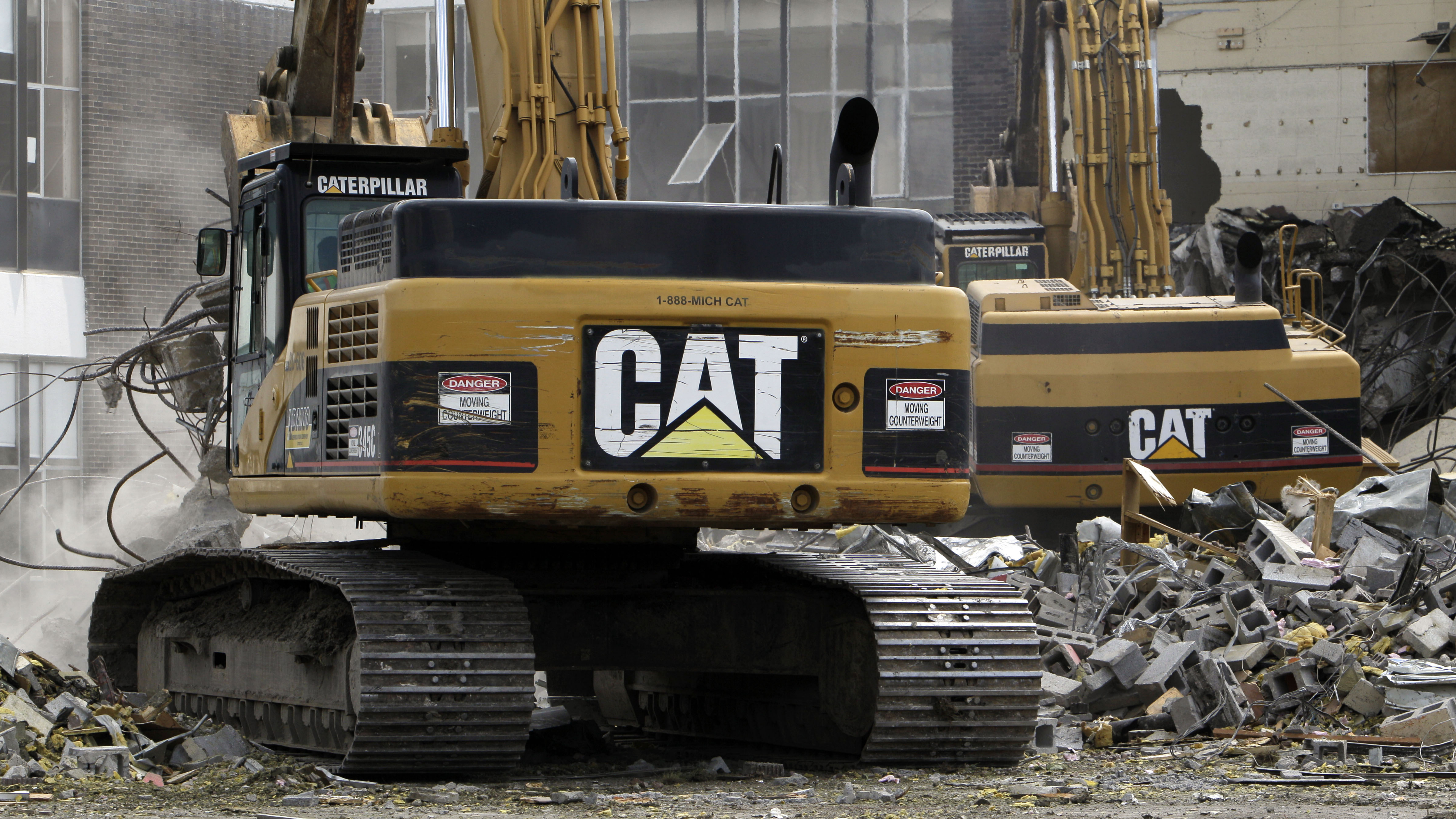 Caterpillar's earnings have been crushed by a $580 million accounting scandal in China.