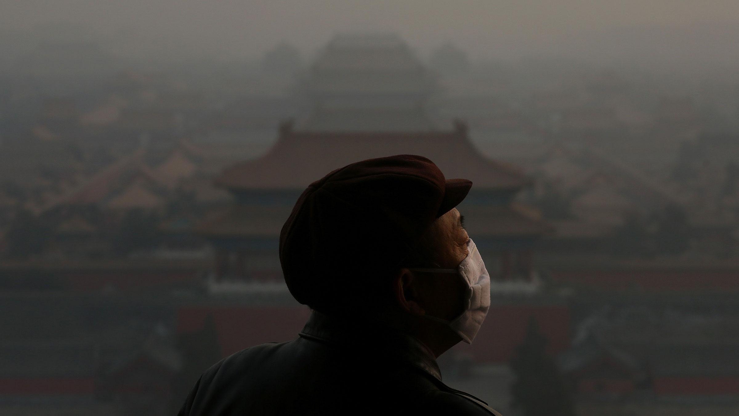 smog, china