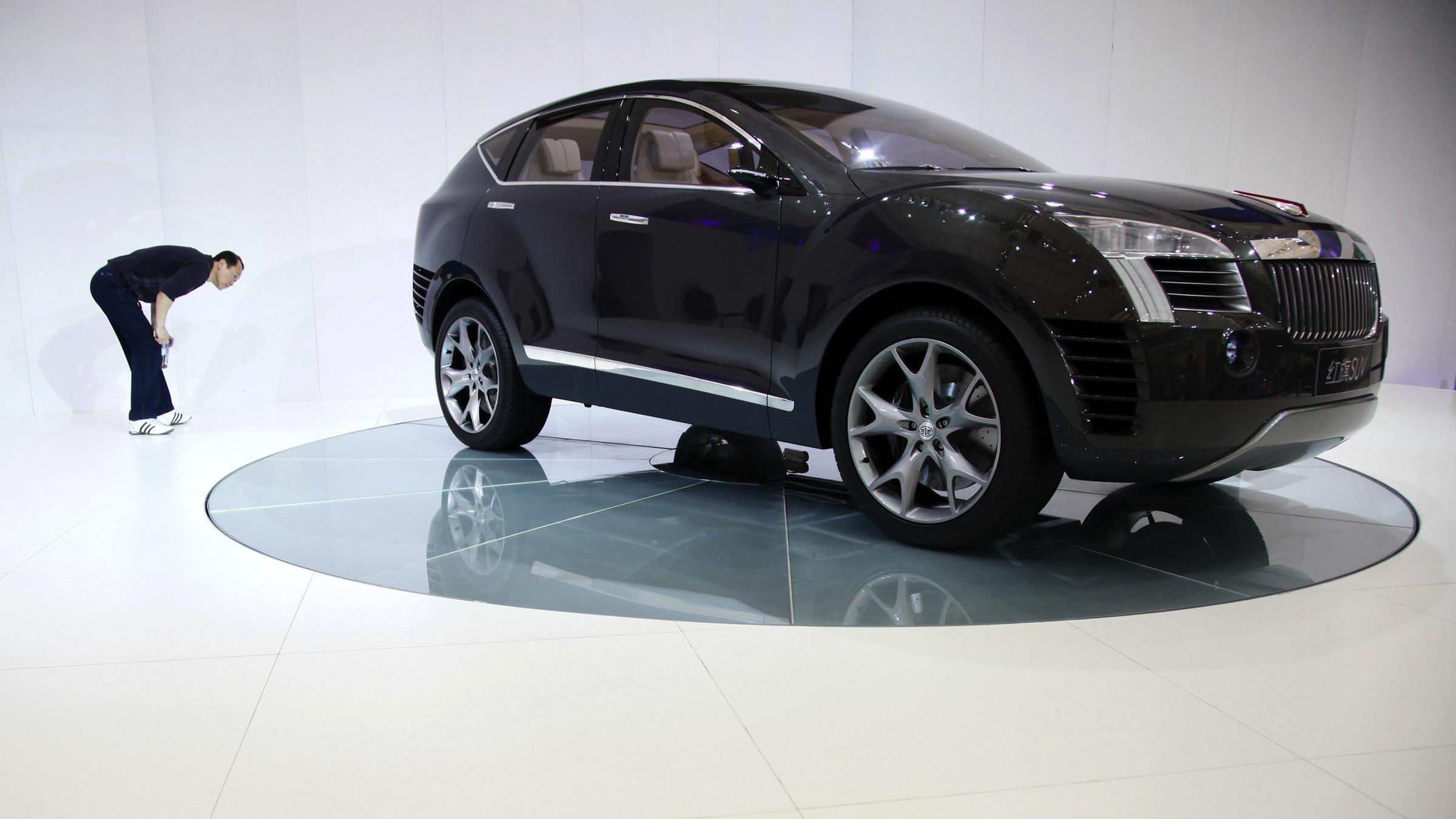 SUV Concept car at the Shanghai International Auto Show
