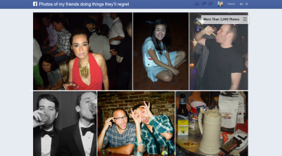 Facebook Graph Search photo illustration