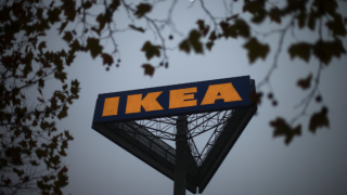 Ikea logo in Berlin