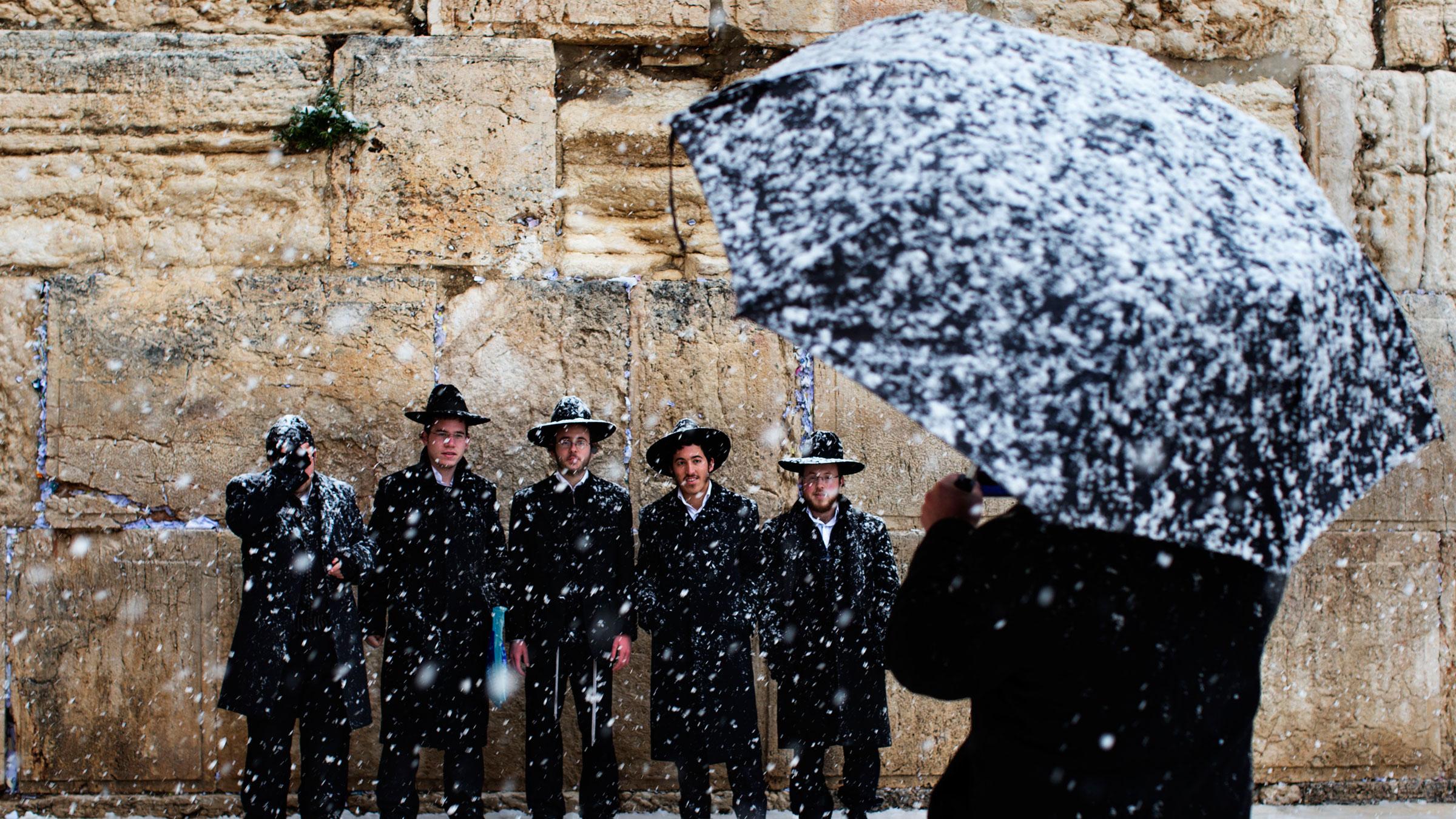 Israel, snowfall