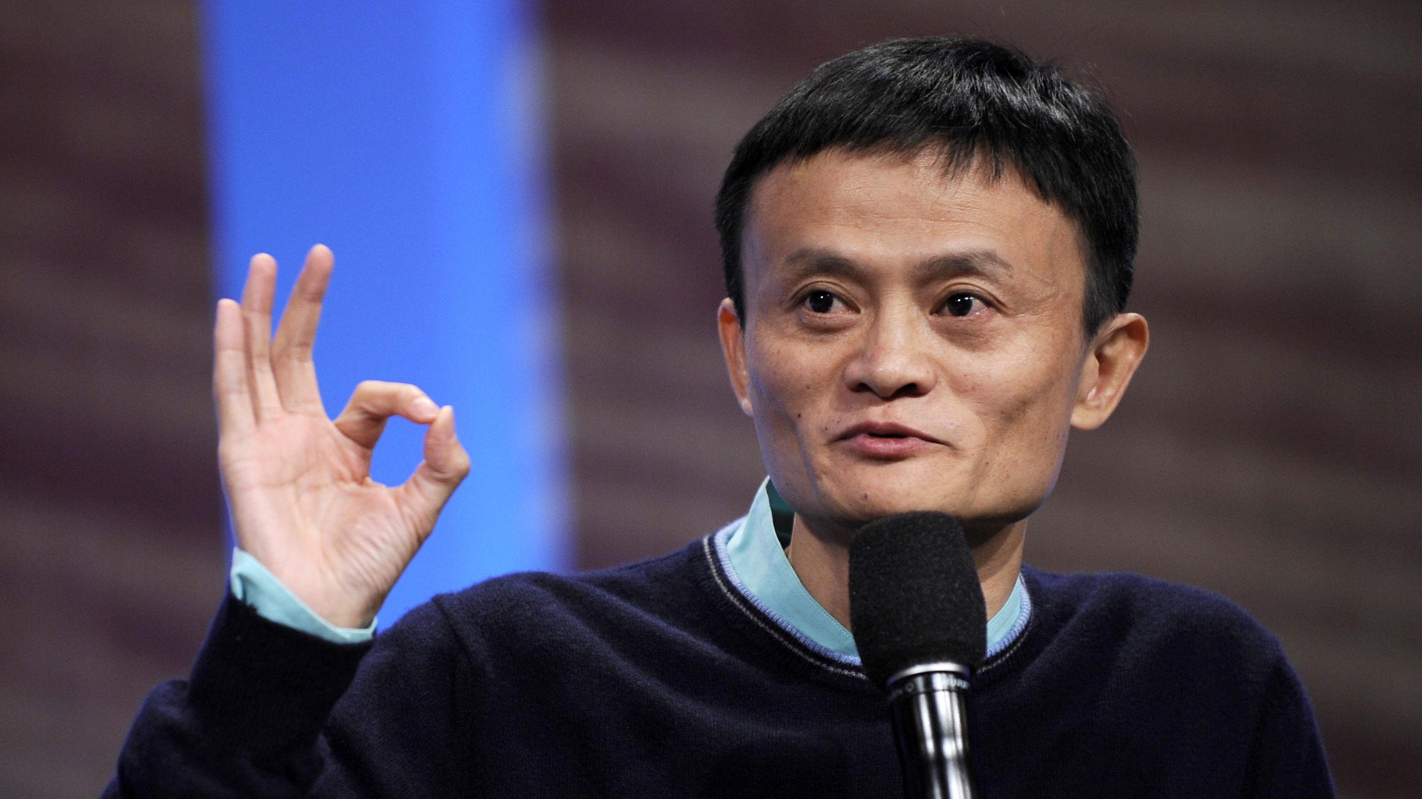 Jack Ma, Alibaba's CEO