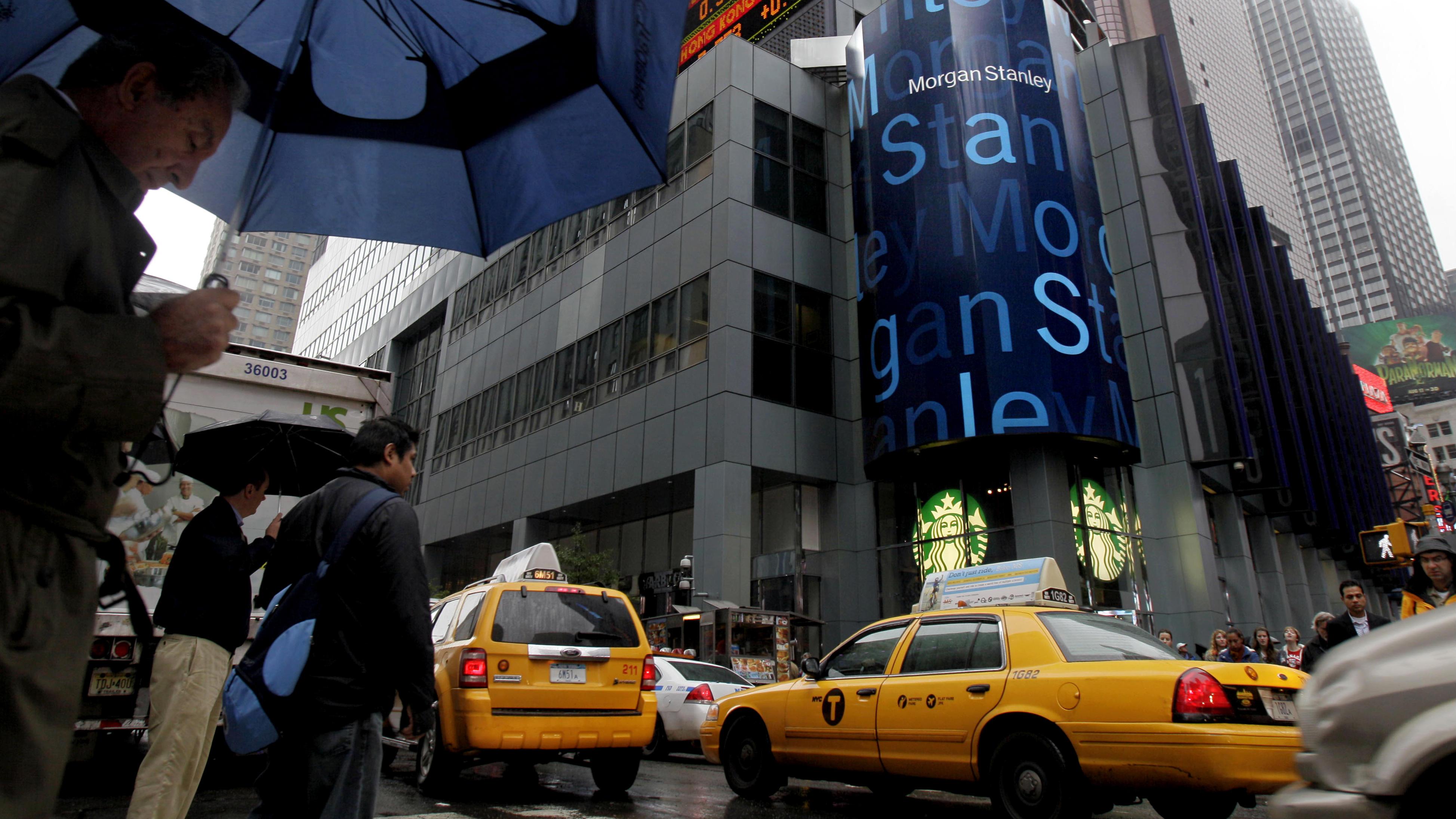 Morgan Stanley investment banker bonuses fell