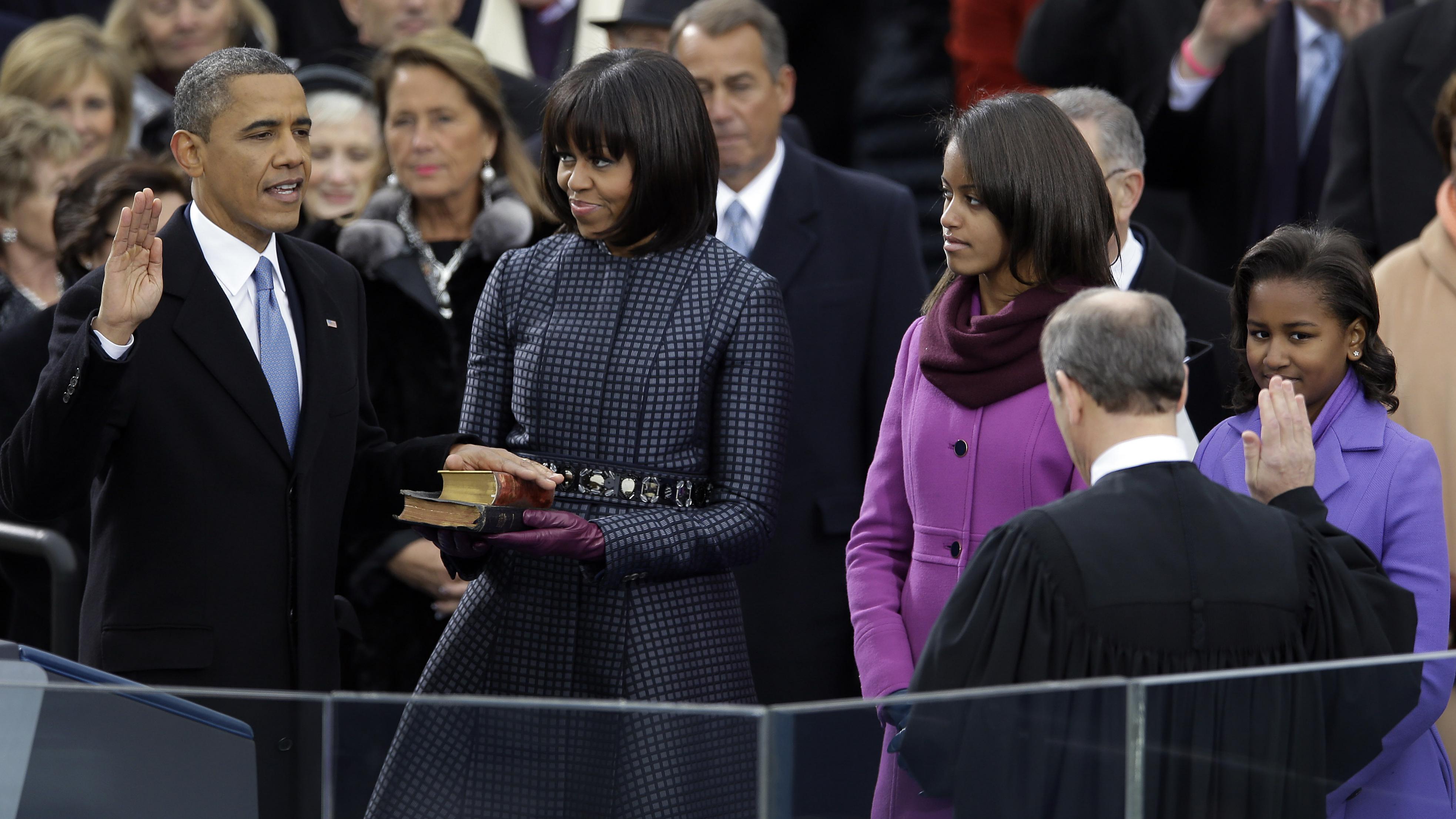 Obama second inauguration