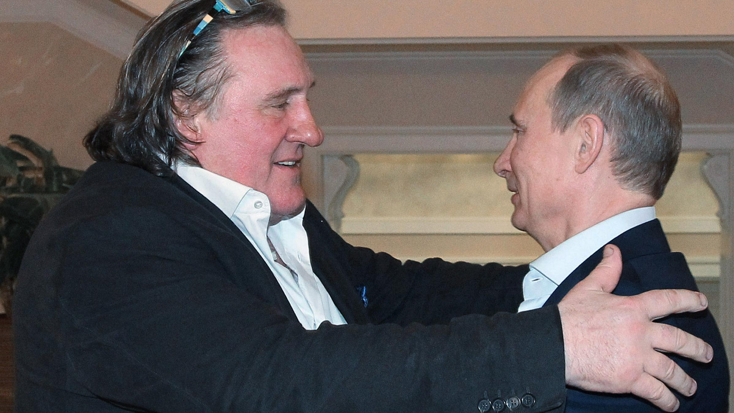 Gerard Depardieu, Putin