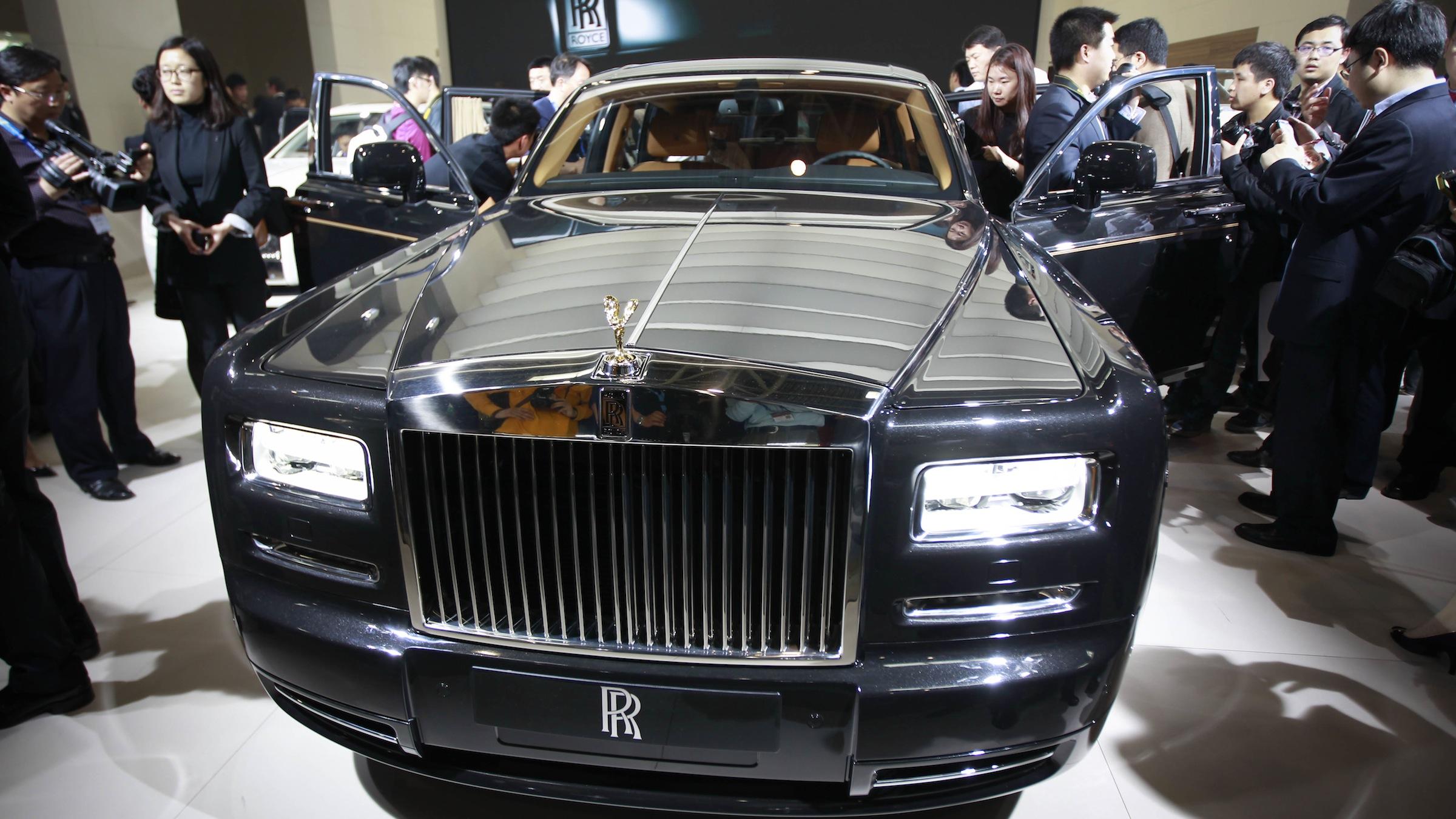China Auto Show Rolls Royce