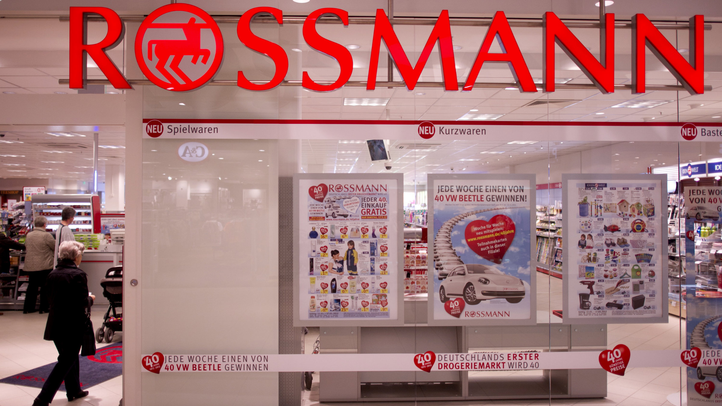 German drugstore Rossmann is outraged over exorbitant new public broadcasting fees places on companies.