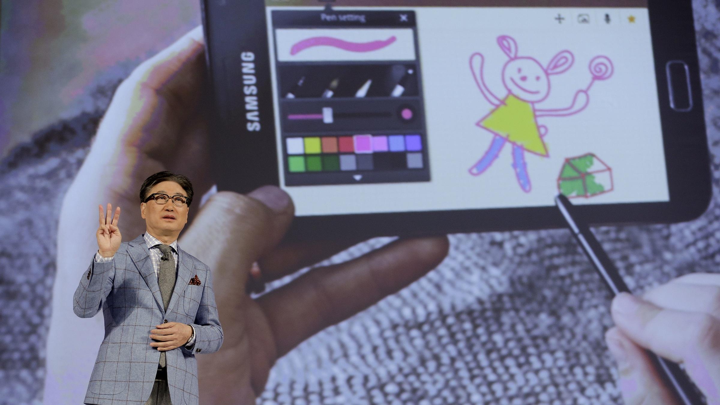 Samsung's B.K. Yoon at CES