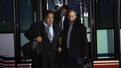 Google's Eric Schmidt, Bill Richardson