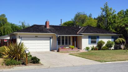 The Los Altos garage where Steve Jobs and Steve Wozniak built the first Apple computer