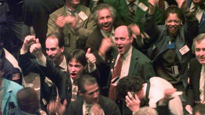Remember the cheering stock brokers? Now it's the bond brokers' turn—but for how long?