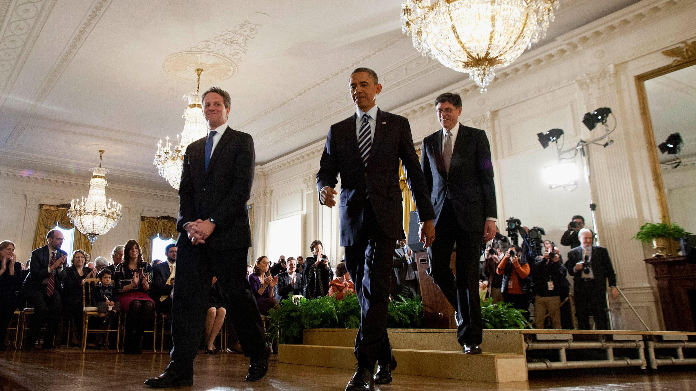 obama, lew, geithner