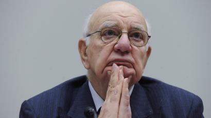 """Market maker: Goldman Sachs hardly violated the """"Volcker rule,"""" named for the former Federal Reserve chairman pictured above."""