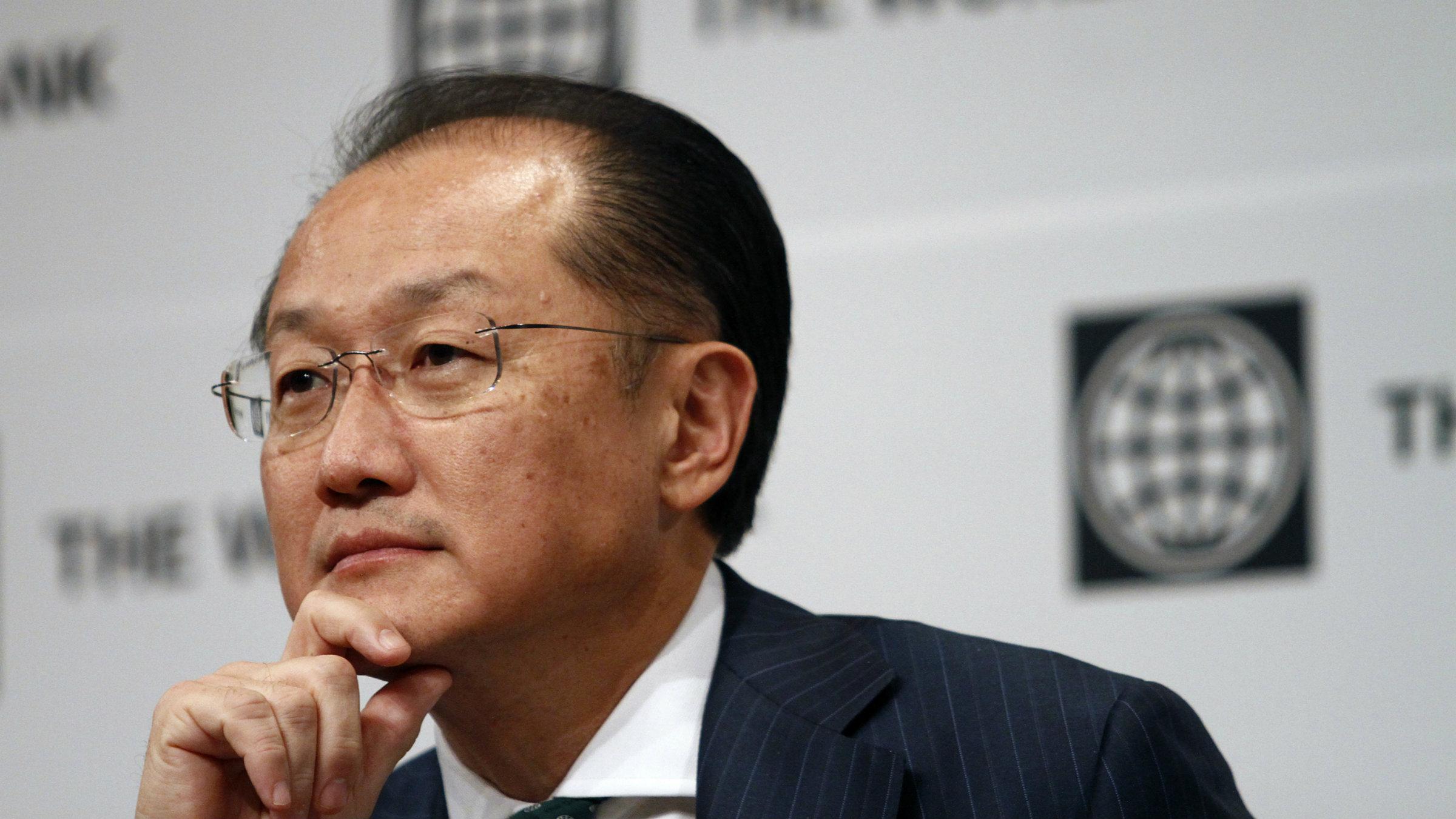 World Bank President Jim Yong Kim: That's a good question...