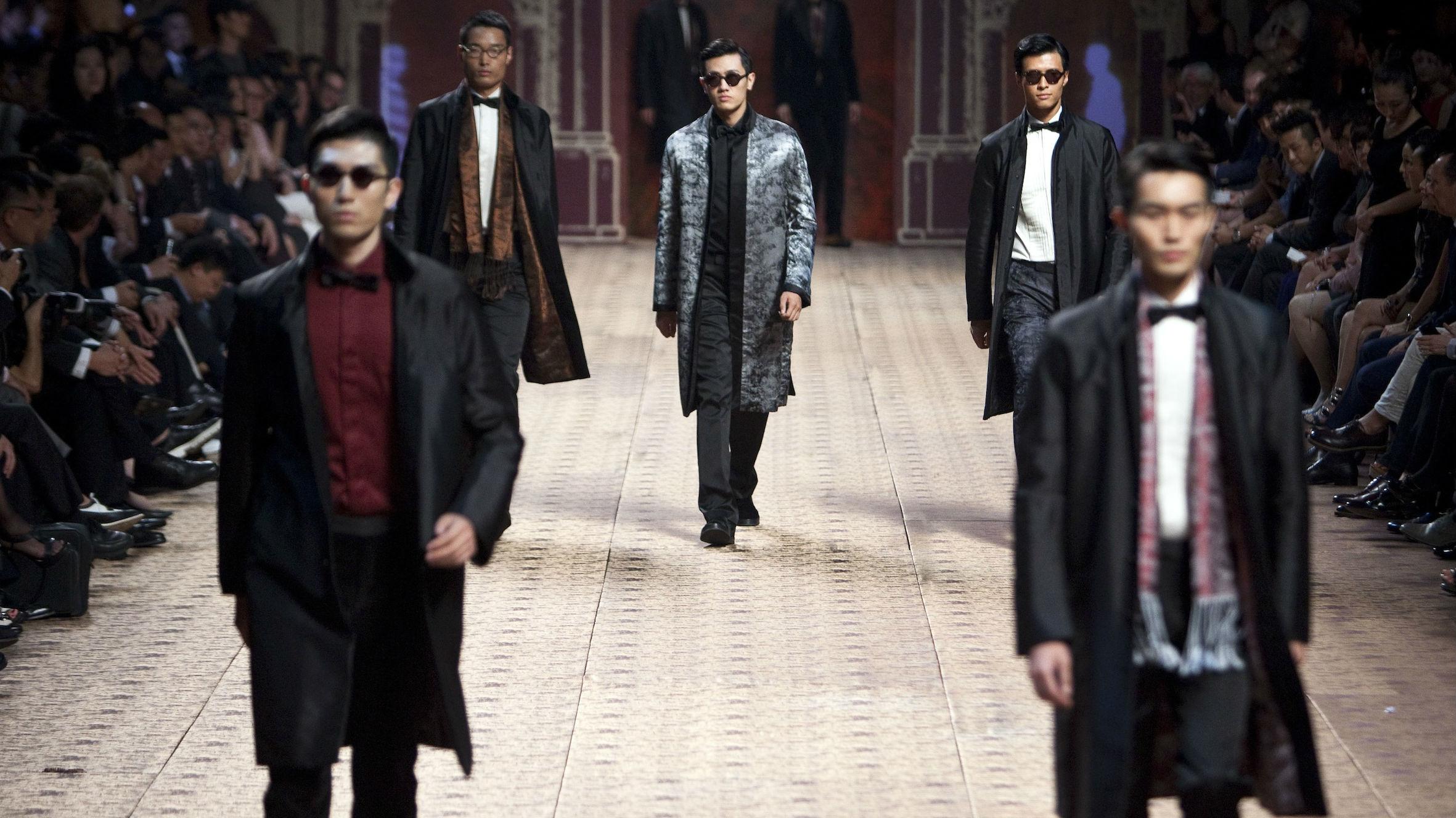 Ermenegildo Zegna and other luxury brands reported rebounding demand in China.