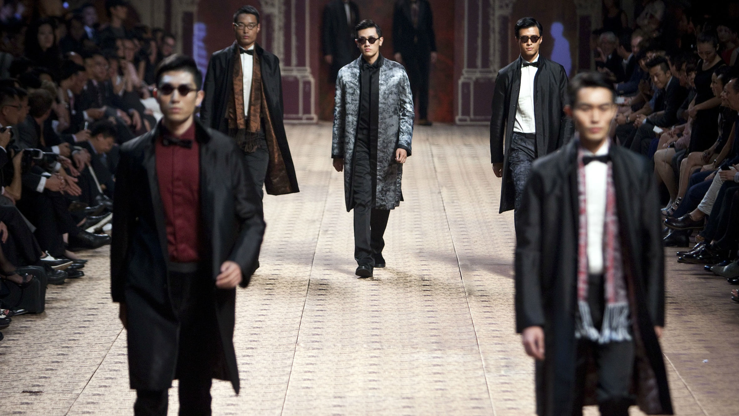 Ermenegildo Zegna and other luxury brands reported rebounding demand in China.