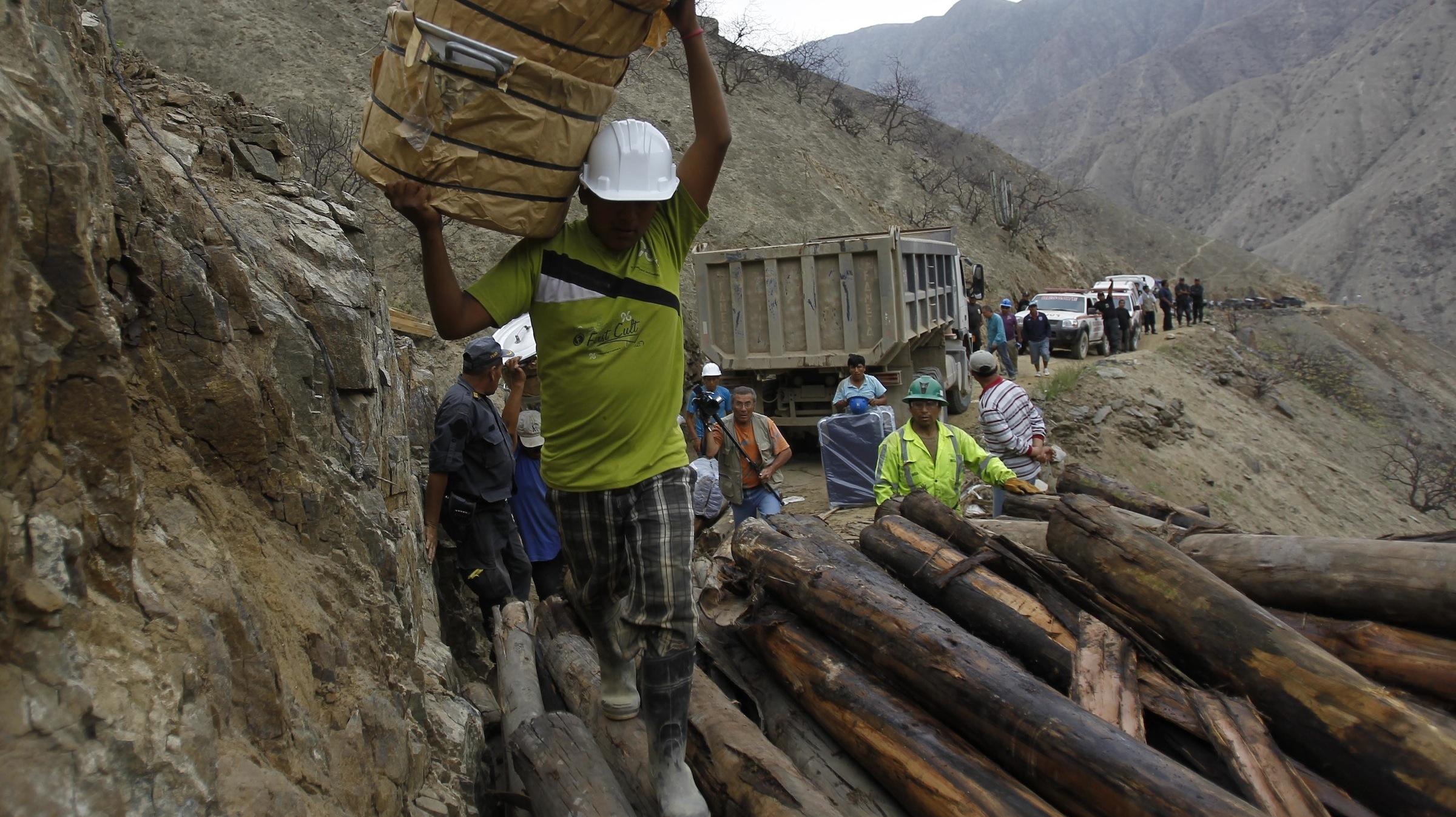 mine in Peru