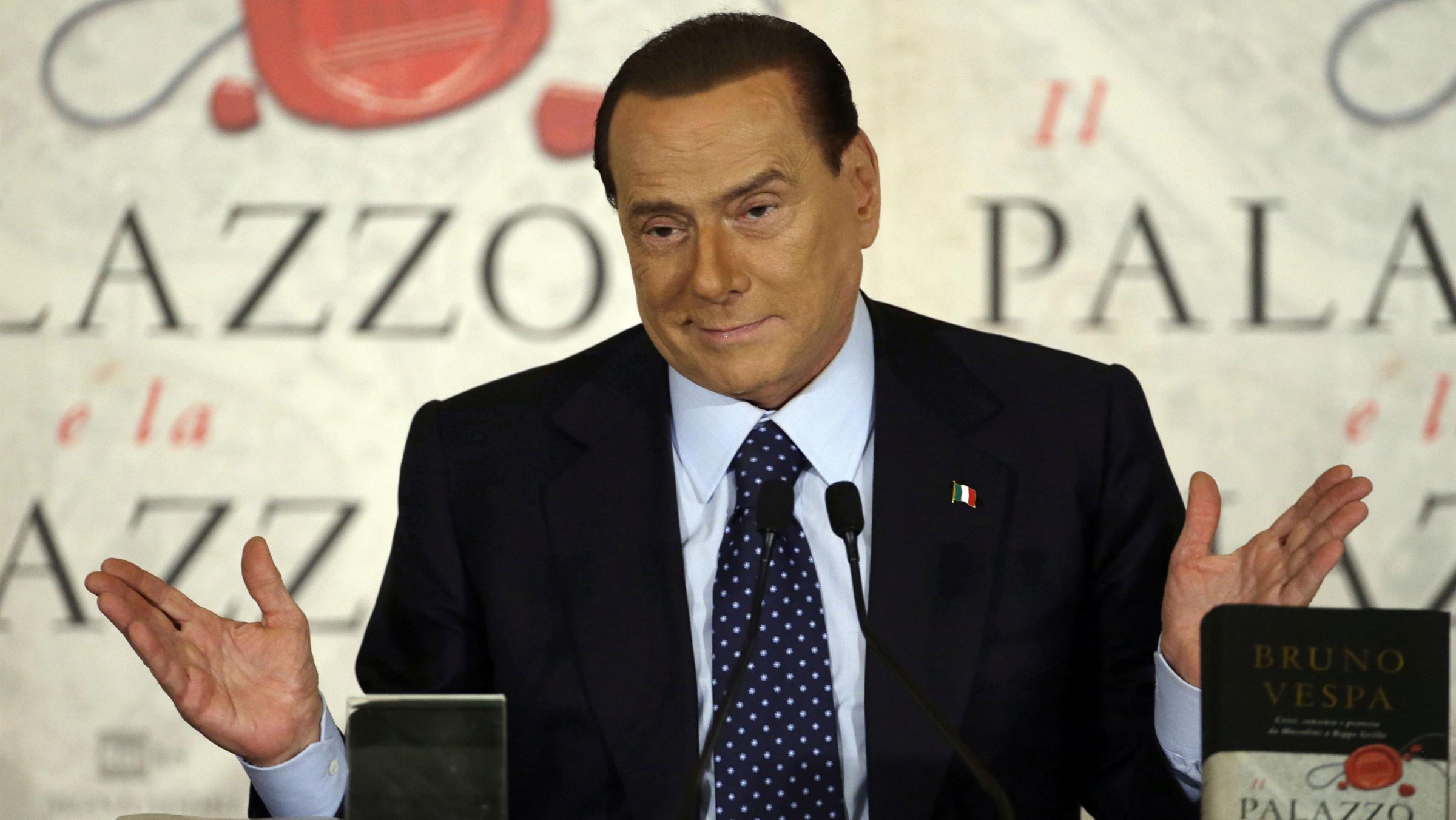 silvio berlusconi italy elections hung parliament