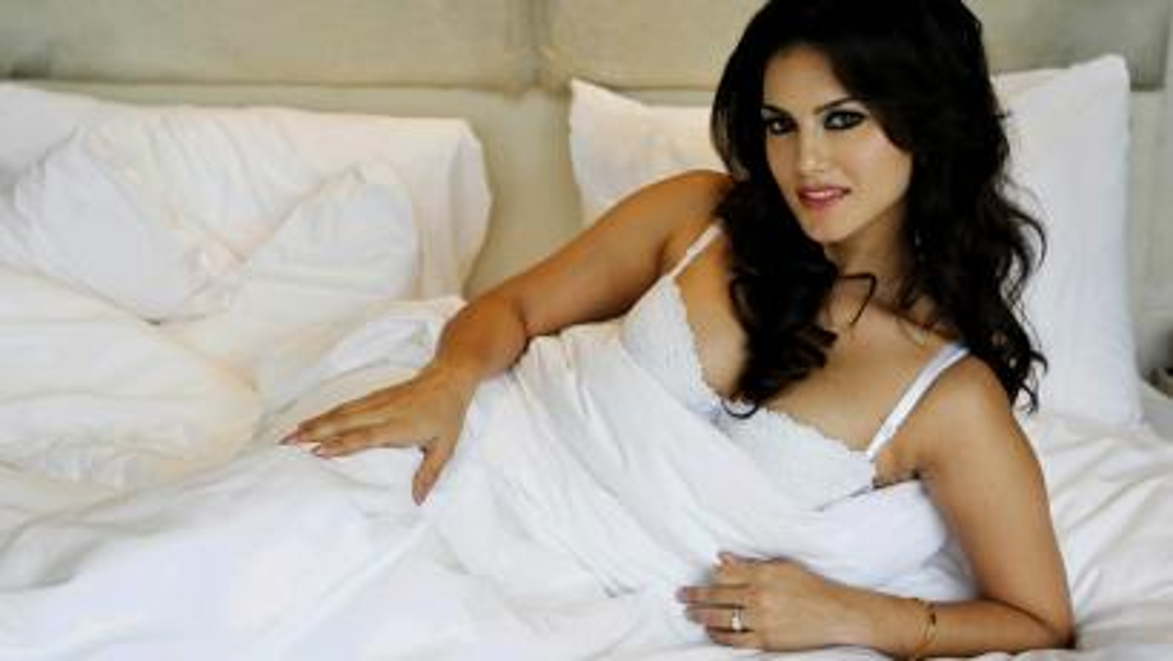 Bollywood actress posing in underwear