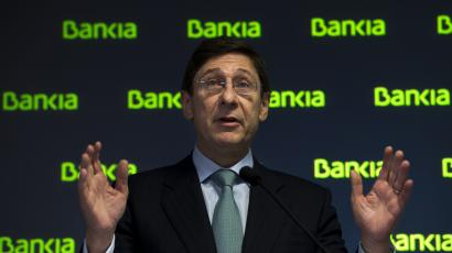 bankia record loss