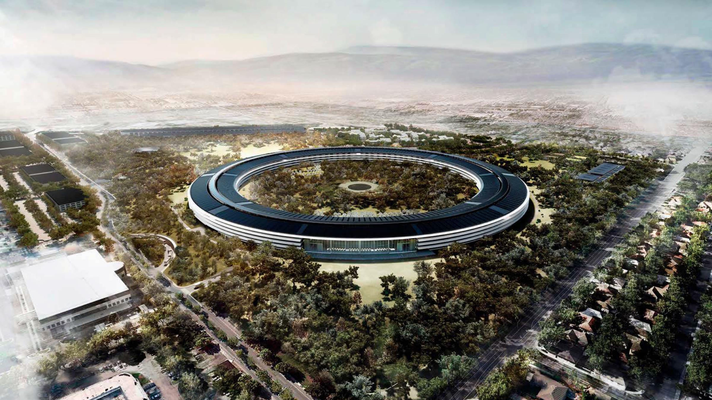 Apple's next campus