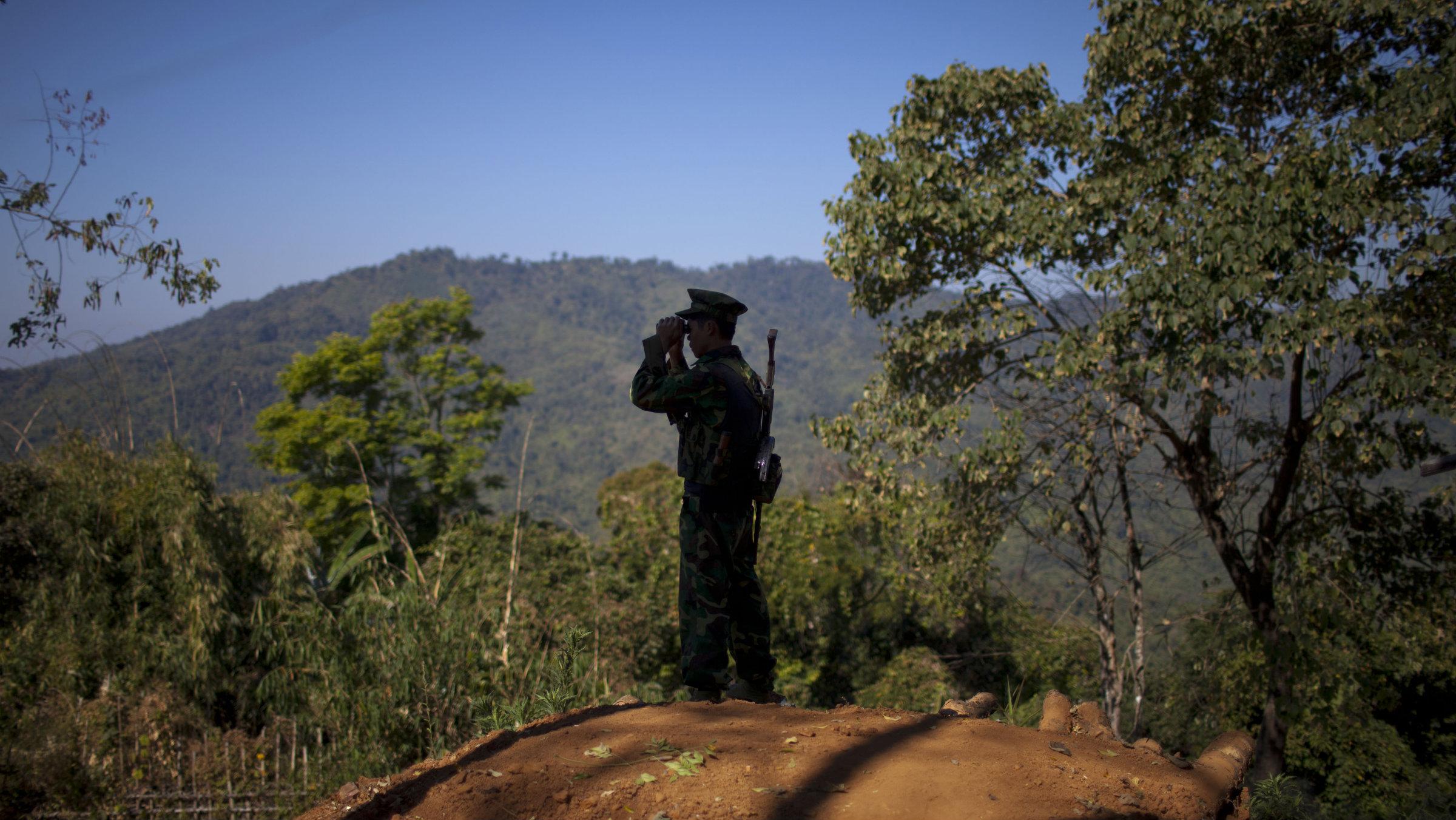Kachin outpost