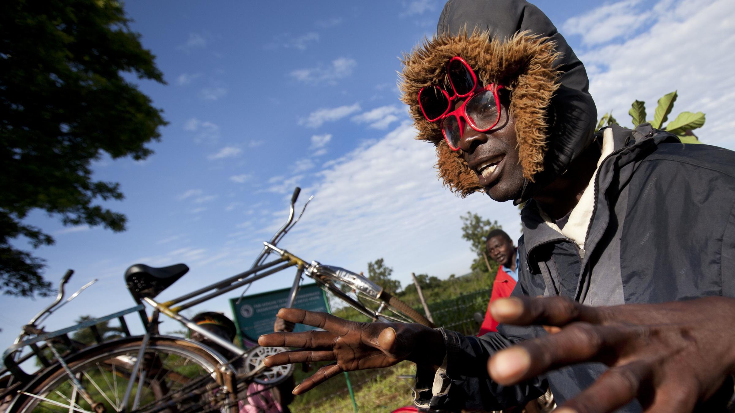 Villager in rural Kenya.