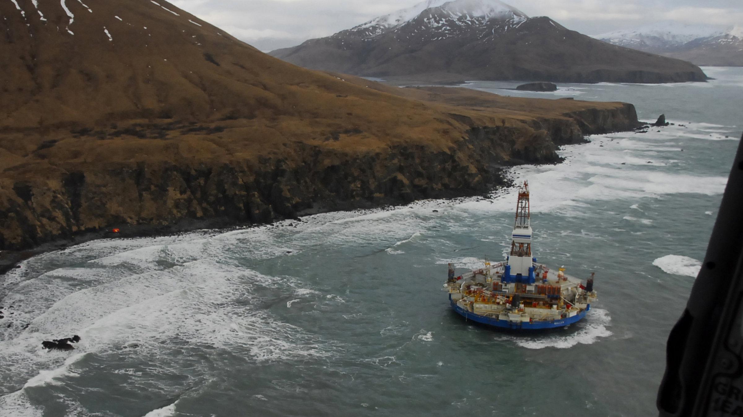 arctic oil drilling, Kulluk rig