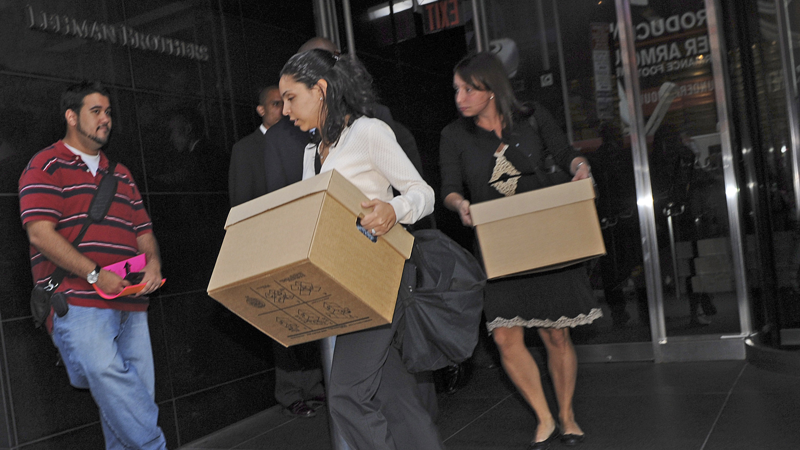 Lehman brothers boxes