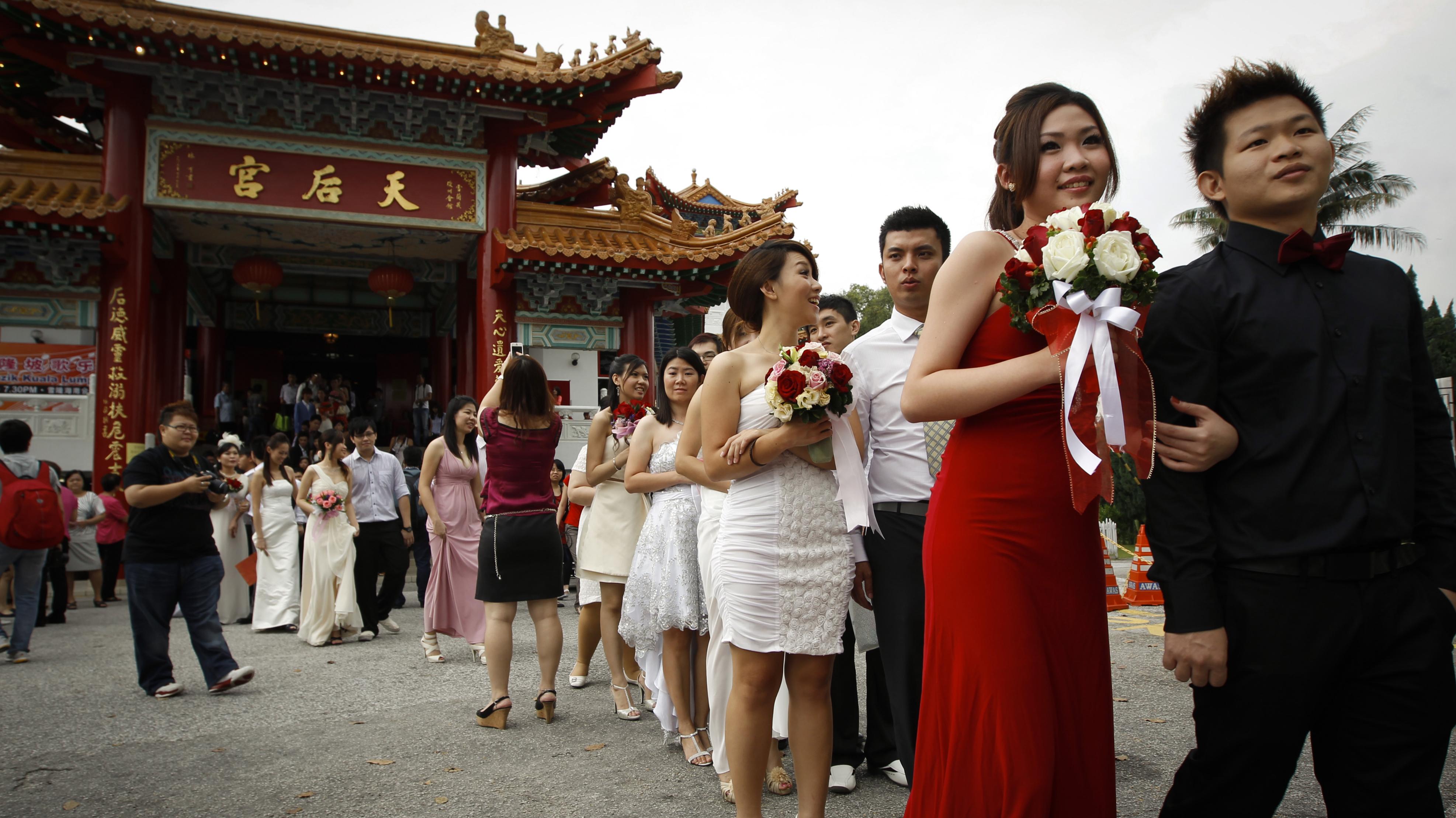 Mass wedding in Malaysia