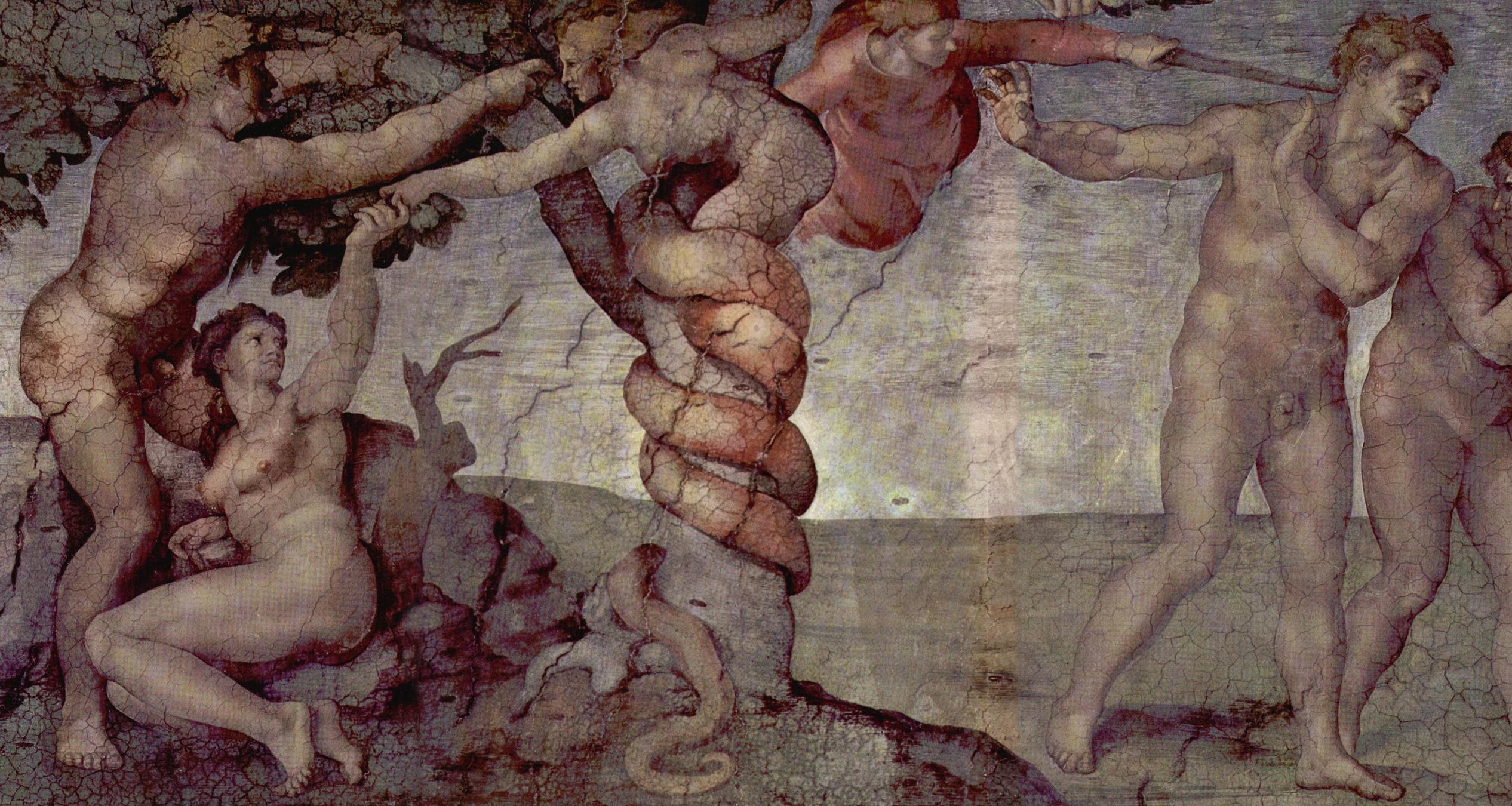 """Michelangelo's """"Original Sin"""""""