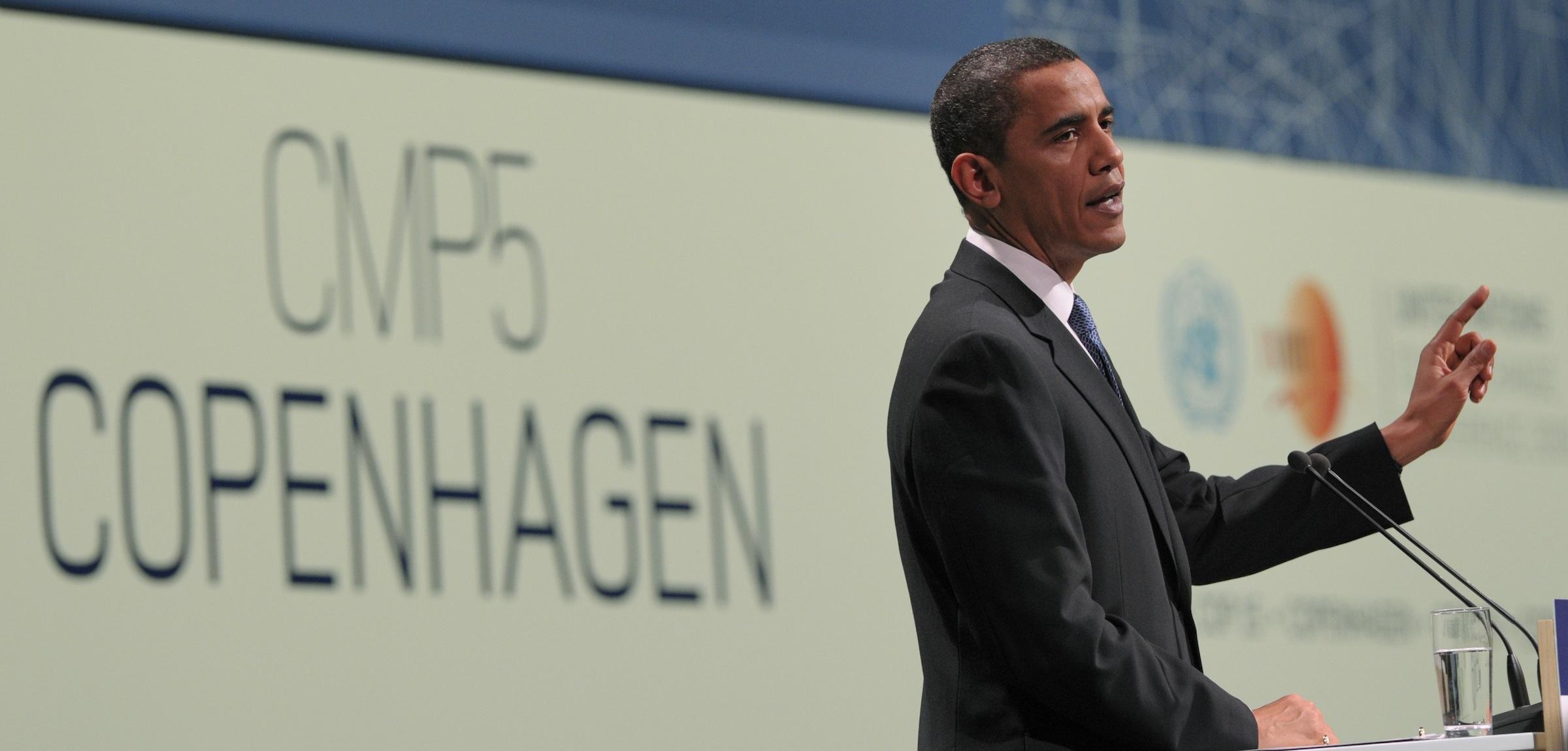 Barack Obama in Copenhagen