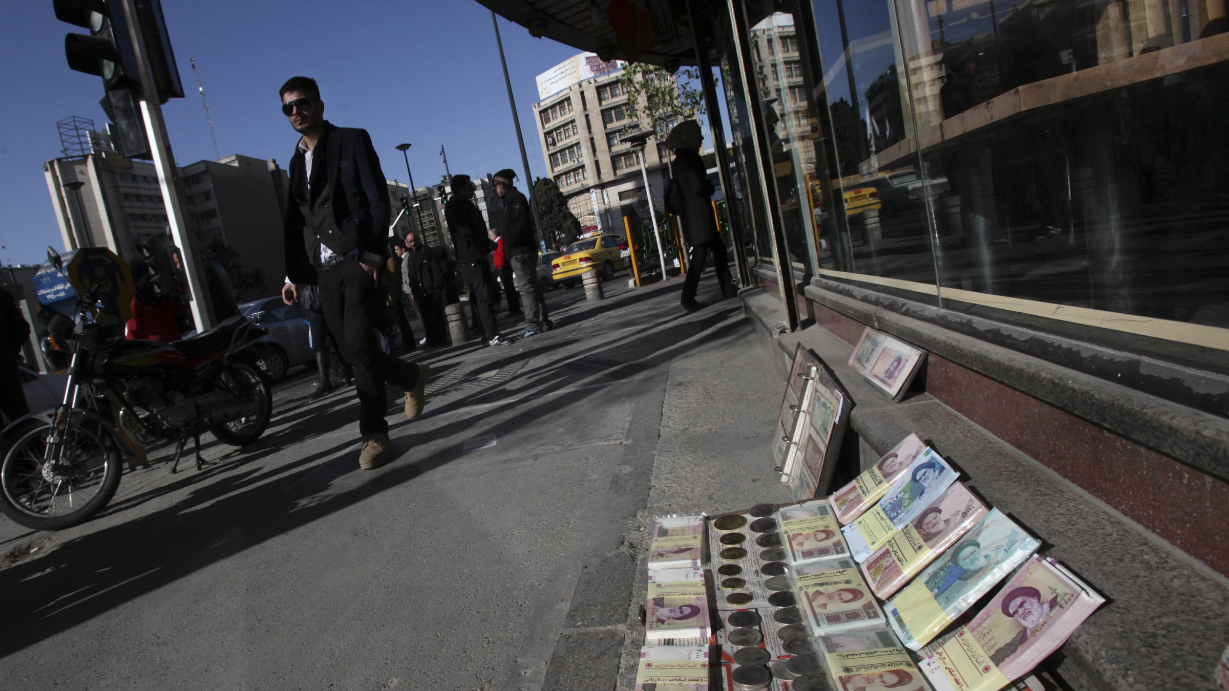 The rial lost 40% of its value in 2012.