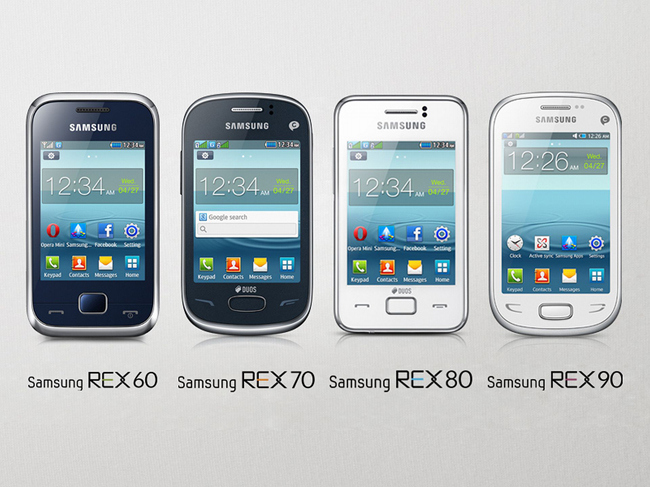samsung REX phones