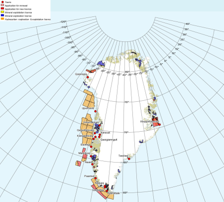 Greenland mineral and oil rights