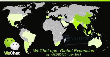WeChat app global expansion
