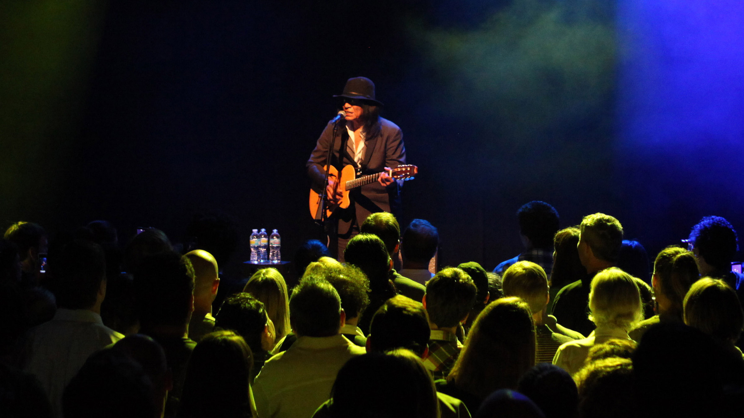 Sixto Rodriguez at a sold-out concert in Chicago. South Africans loved him first.